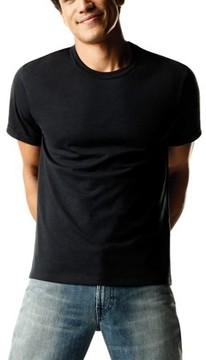Hanes Men's FreshIQ ComfortSoft 4-Pack, Dyed Crew Neck T-Shirts
