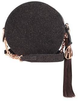 Amanda Wakeley Cocoa Crystal Round Shoulder Bag