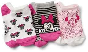 Gap GapKids | Disney Minnie Mouse No-Show Socks (3-Pack)