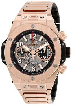 Hublot Big Bang UNICO Skeleton Dial 18k Rose Gold Men's Watch