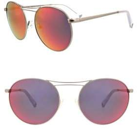 KENDALL + KYLIE 54MM Bella Mirrored Sunglasses