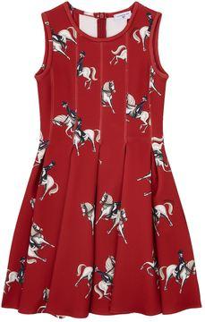 MonnaLisa Horse Print Dress