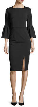 Donna Morgan Body Con Dress With Slit