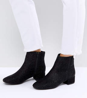 New Look Wide Fit Low Block Chelsea Boot
