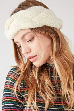 Urban Outfitters Braided Knit Headband