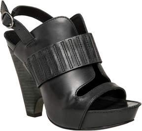 Max Studio nelson : polished calf demi wedge sandals