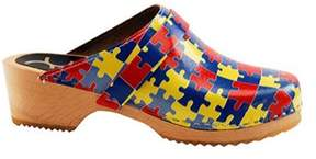 Cape Clogs Women's Puzzle Piece.