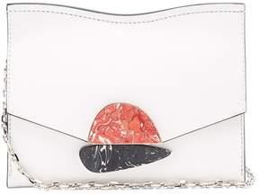 Proenza Schouler Curl small leather clutch