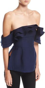 C/Meo First Impression Off-the-Shoulder Blouse