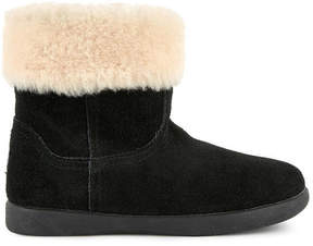 UGG Jorie II leather fur-lined boots
