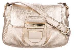 MICHAEL Michael Kors Metallic Leather Flap Crossbody Bag