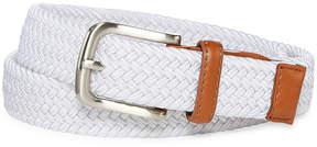 Izod White Stretch Web Belt - Boys 4-20