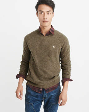 Abercrombie & Fitch Icon Cashmere Waffle Sweater