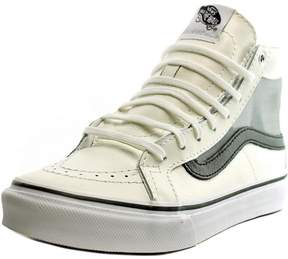 Vans SK8-Hi Slim Cutout Women US 5.5 White Sneakers UK 3 EU 35