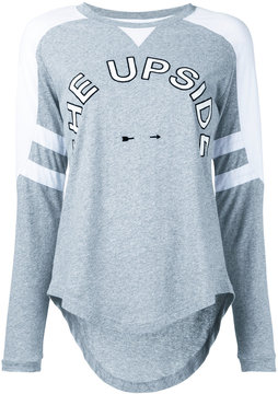 The Upside logo print sweatshirt