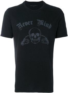 John Varvatos Never Mind print T-shirt