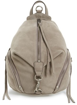 Rebecca Minkoff Medium Julian Backpack - Grey - GREY - STYLE