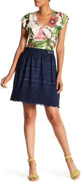 Desigual Aetos Lined Skirt