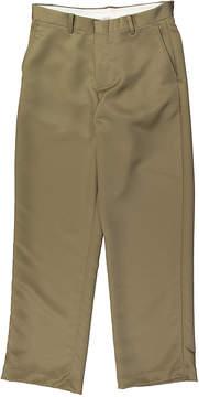 Izod Taupe Microfiber Pants - Boys