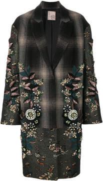 Antonio Marras embellished single breasted coat