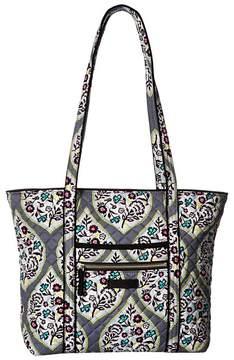 Vera Bradley Iconic Small Vera Tote Tote Handbags - HERITAGE LEAF - STYLE