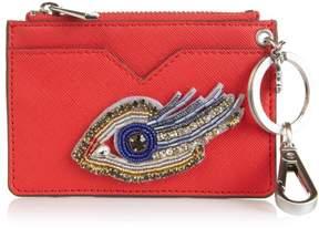 Sam Edelman Embroidered Eye Credit Card Wallet