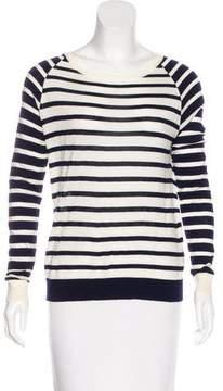 Allude Virgin Wool Striped Sweater