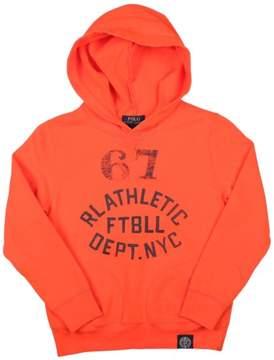 Polo Ralph Lauren Big Boys' (8-20) Football Pullover Hoodie-Orange