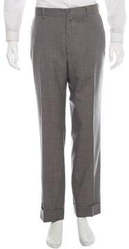 Dries Van Noten Houndstooth Wool Pants