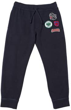 DSQUARED2 Scout Patches Cotton Sweatpants