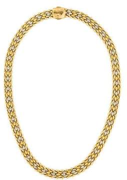 Chimento 18K Two-Tone Reversible Chain Necklace