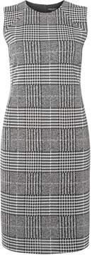 Dorothy Perkins Grey Checked Print Seam Pencil Dress