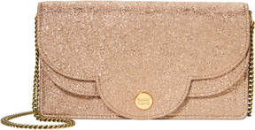 See by Chloe Polina Glitter Chain Wallet