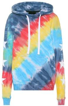 Amiri Striped cotton hoodie