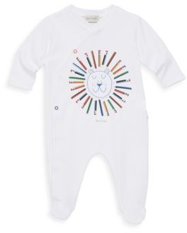 Paul Smith Baby Boy's Cotton Long Sleeve Footie