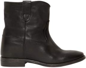 Isabel Marant 70mm Cluster Wedged Leather Boots