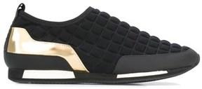 Balmain Women's Black Polyester Slip On Sneakers.