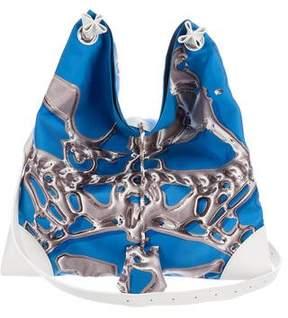 Hermes SilkyCity 33 Bag - BLUE - STYLE