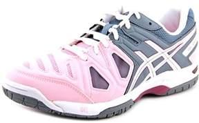 Asics Gel-game 5 Women Round Toe Synthetic Pink Running Shoe.