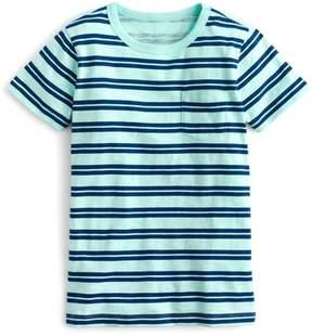 J.Crew crewcuts by Stripe Pocket T-Shirt
