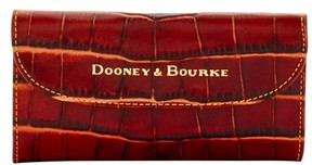 Dooney & Bourke City Lafayette Continental Clutch Wallet - COGNAC - STYLE