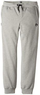 Volcom Single Stone Fleece Pants Boy's Casual Pants