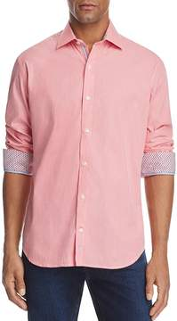 Tailorbyrd Lacombe Regular Fit Long Sleeve Button-Down Shirt