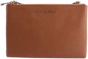 Michael Kors Vanilla Acorn Jet Set Travel Leather Crossbody Bag - VANILLA - STYLE