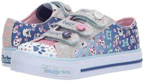 Skechers Shuffles - Paw Party 10859L Lights Girl's Shoes