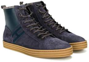 Hogan Teen R141 hi-top sneakers