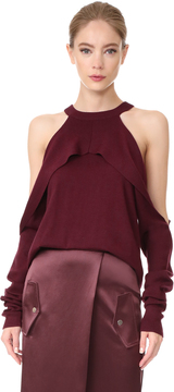 Dion Lee Cold Shoulder Top