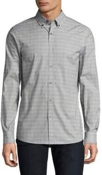 Michael Kors Trim Austin Casual Button-Down Shirt