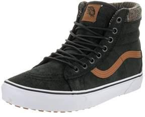 Vans V00XH4JTF Men's Sk8-Hi MTE Skate Shoe, Black/Tweed, 7.5 M US