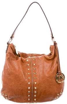 MICHAEL Michael Kors Studded Leather Hobo